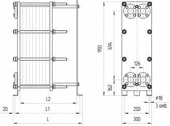 Пластинчатый теплообменник ридан нн 14 характеристики Пластинчатый теплообменник Alfa Laval T50-MFG Иваново